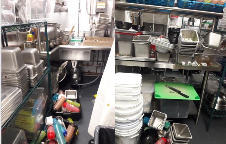 man vs dishes